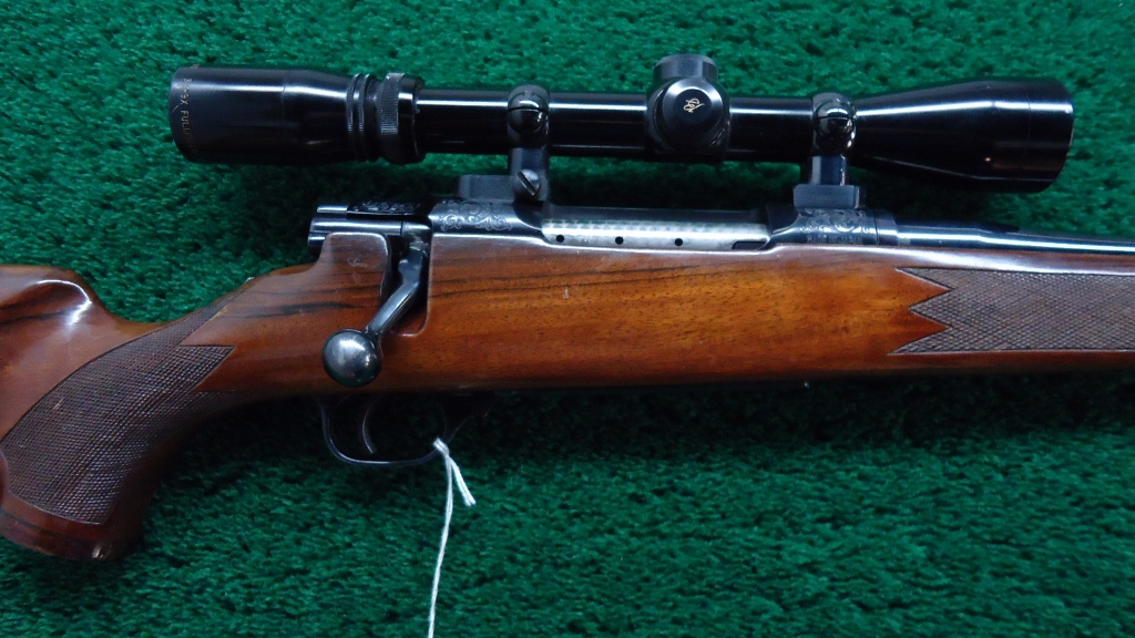 W126 VERY RARE WINCHESTER MODEL 777 BOLT ACTION RIFLE